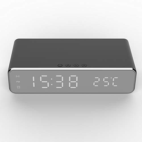 LTDD Reloj despertador digital con función de carga inalámbrica, con su propia...