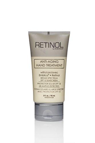 Retinol by Robanda Anti-aging Hand Treatment