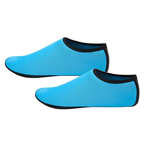 Calcetines de buceo, calcetines de buceo antideslizantes, calcetines de neopreno para hombres, mujeres, adultos, protección contra arena, agua fría / caliente, calcetines de natación de guijarros