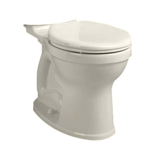 American Standard 3395B001.222 Champion-4 HET Right Height Round Front Toilet Bowl, Linen