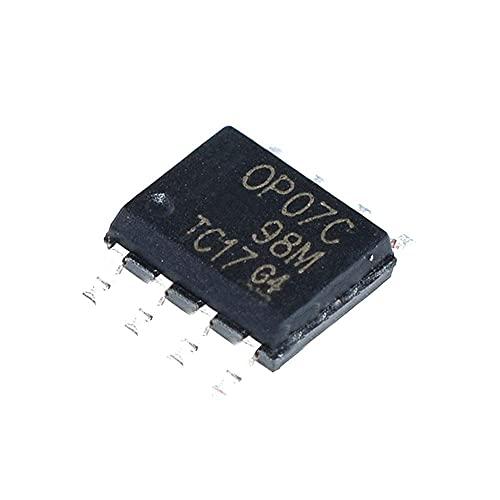 MZWNQ Componenti elettronici 10 pz/Lotto Circuito Integrato Op07 Op Amp Single GP 18V 8-Pin T/R Op07cdr.
