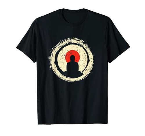 Buddha Meditation Shirt Enso Circle Buddhist Zen T-Shirt