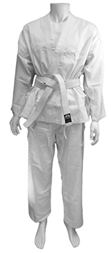 Cartasport–Kimono de Karate, Color Blanco, 130cm