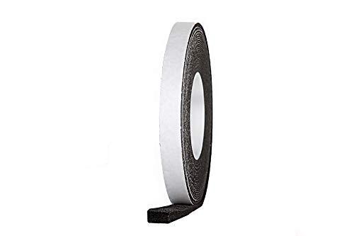 10 m Komprimierband Acryl 300 15/4, anthrazit Bandbreite 15 mm, expandiert von 4 auf 20 mm, Quellband/Fugendichtband/Kompriband/Fugenabdichtung/Fensterdichtband/Dichtungsband