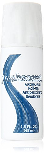 Freshscent Roll-On Deodorant Alcohol Free, 1.5 oz, Pack of 96