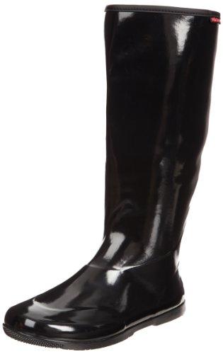 Baffin Women's Packables Rain Boot,Black,6 M US