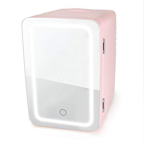 Personal Chiller LED Lighted Mini Fridge (Pink)
