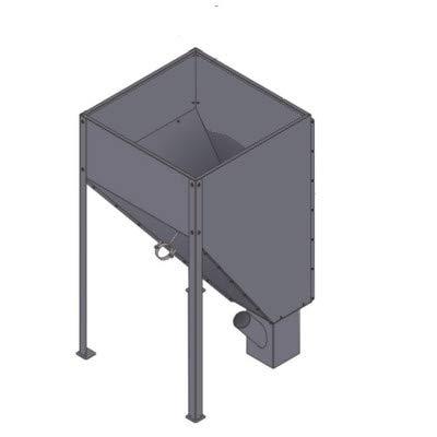 450 l Pelletbehälter Orligno 400/Orligno 100 für Orligno 100 16kW