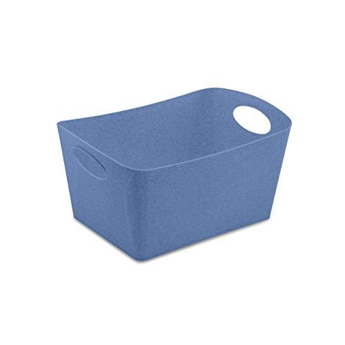 Koziol Aufbewahrungsbox Boxxx M, Box, Kiste, Korb, Aufbewahrung, Thermoplastischer Kunststoff, Organic Blue, 3.5 L, 5744671