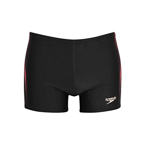 Speedo PNL ASHT AM Boxer de Bain pour Homme Taille Unique Noir - Noir/Charbon