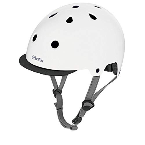 Electra Bicycle Electra Fahrrad Helm Solid Attitude Fashion Serie, EHelm, Farbe Weiss, Größe S