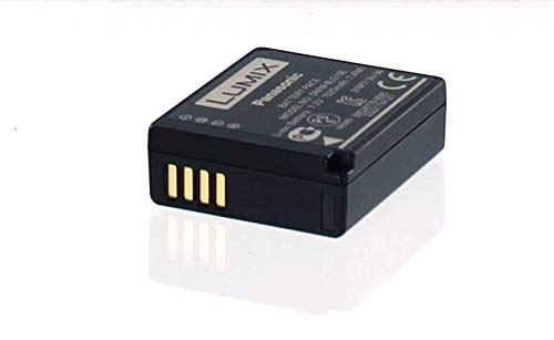 Panasonic Original Akku für Panasonic LUMIX DMC-LX100, Camcorder/Digitalkamera Li-Ion Batterie