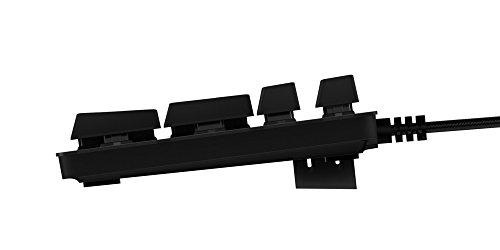 Logitech G413 Tastiera Gaming Meccanica, Tasti Retroilluminati, Switch Meccanici Romer-G Tactile, Telaio Lega Alluminio, Funzioni Personalizzate, Passthrough USB, Layout Italiano QWERTY, Nero