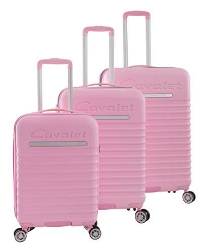 Cavalet Passadena Luggage Set, 73 cm, 247 liters, Pink (Rosa)