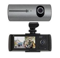 Fantastic Deal! Trucking /Auto LCD Video DVR w/ GPS / G-Sensor / Front / Rear Cameras