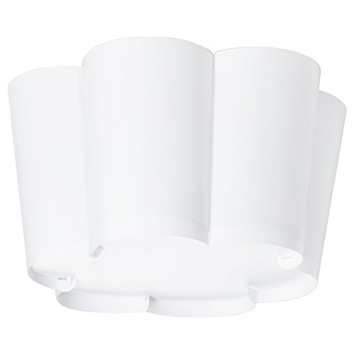IKEA Deckenlampe LYSBOJ weiß