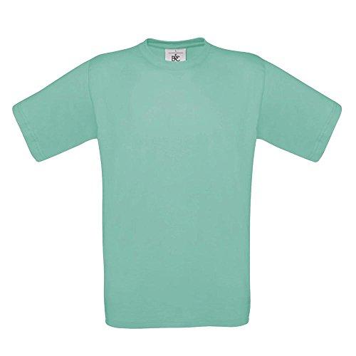 B&C, t-shirt della collezione 'Exact 190' Pixel Turquoise S