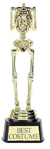 amscan Costume Squelette Trophy 24 x 7.6 Centimetre