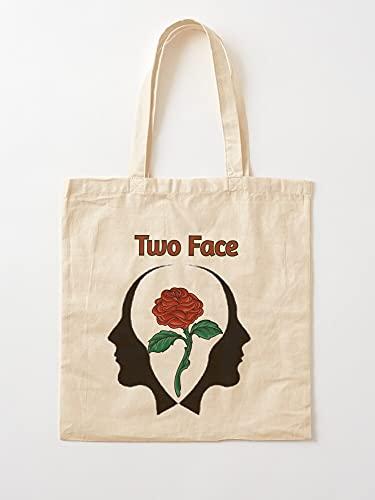 Generic Flower Basic Printed White Top | Einkaufstaschen aus Segeltuch mit Griffen, Einkaufstaschen aus nachhaltiger Baumwolle