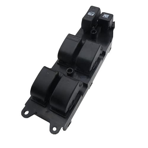YSAZA Nuevo Interruptor de Control de Ventana Interruptor de Ventana eléctrica, para Toyota Corolla 2004-2007 84820-0F030 84820-02100