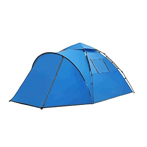 Tenda all'aperto, Camping Camping Tent, Portable Double Layer Impermeabile Protezione UV Durevole Escursionismo Arrampicata Beach Giardino Pesca Picnic Colore Picnic: Blu