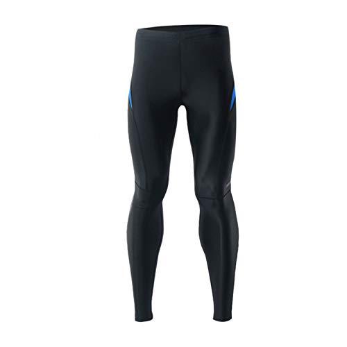 Arsuxeo Pantalones de compresión para hombre al aire libre, Hombre, color azul, tamaño US S / Tag M