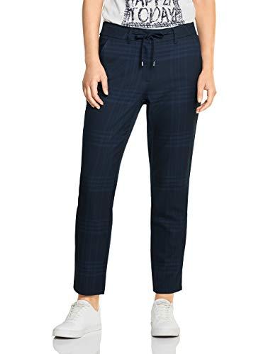 Cecil Damen 372524 Tracey Casual Fit Hose, Blau (deep Blue 20128), W31/L28(Herstellergröße:31)
