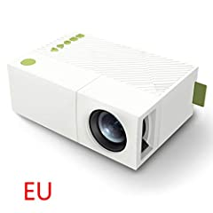 Stylish exterior in white makes it more attractive. Exquisite workmanship and high performance. Supported resolution is up to 1080P, full high definition, provides you with a clear visual effect. Ventilation design, dissipates the heat produced after...