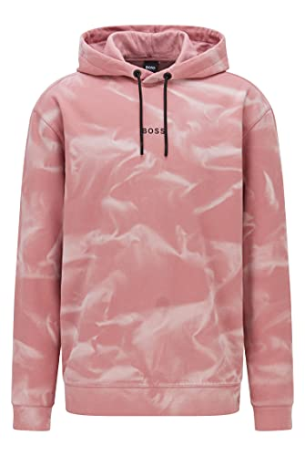 BOSS Wesoil Sudadera con Capucha, Light/Pastel Pink680-Papel para Pintar, S para Hombre