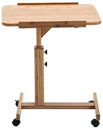 Mesita de noche para ordenador portátil, mesa de escritorio, cama simple y plegable, mesa pequeña, mesita de noche para computadora portátil, mesa de noche (color: 40 x 60 cm) - 40 x 60 cm