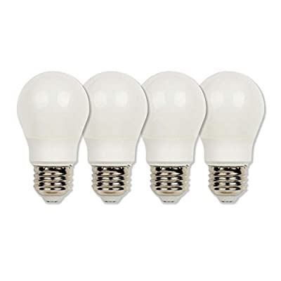 Westinghouse Lighting 4513620 60-Watt Equivalent A15 Soft White LED Light Bulb with Medium Base (4 Pack), Four Pack