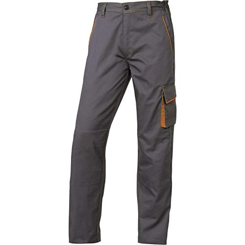 Deltaplus 5427641 Pantaloni Panoply Panostyle M6Pan, Taglia M, Argento/Arancio