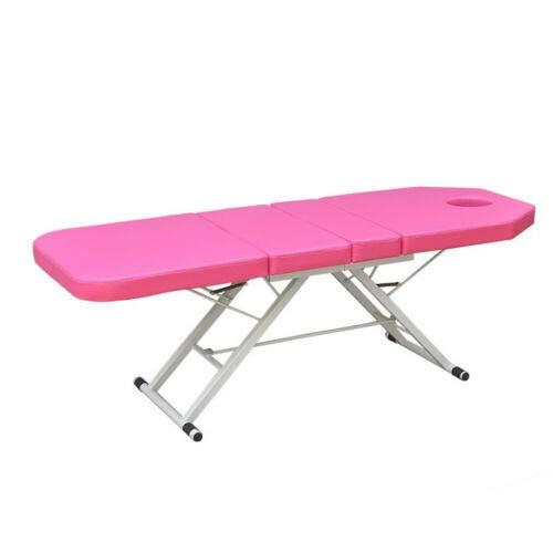Salon SPA camilla de masaje plegable Mesa de masaje Silla de masaje PVC Rosa