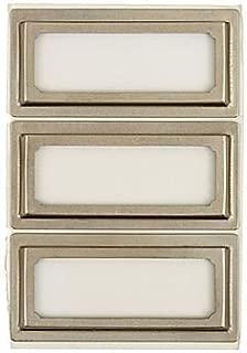 Martha Stewart Metal Bookplates (Silver)
