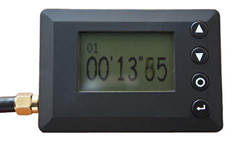 MotoCircuitPartes Stoppuhr Lap-Timer f/ür Motorr/äder und Autos mit Infrarot-Empf/änger gro/ßes Display