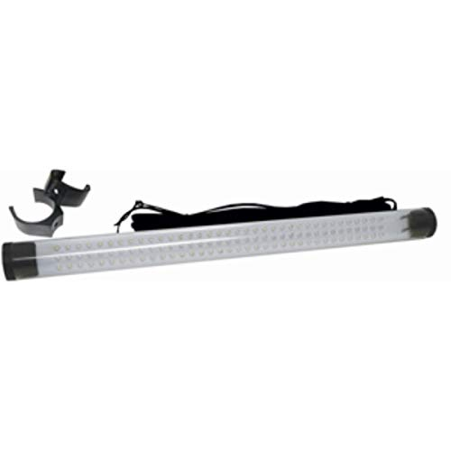 CWR Wholesale 20' Clear and Black Replacement T-Top Tube Light with White/Blue LED Lights