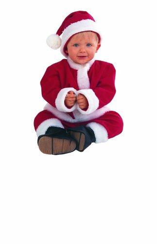 Limit Sport mb622–Cappello Baby Costume da Babbo Natale 5pezzi (pantaloni/cintura/stivali/tunica)
