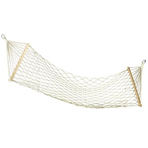 Amaca corda amaca portatile da appendere dondolo con barra di diffusione per interni ed esterni, campeggio, giardino, patio, parco portico