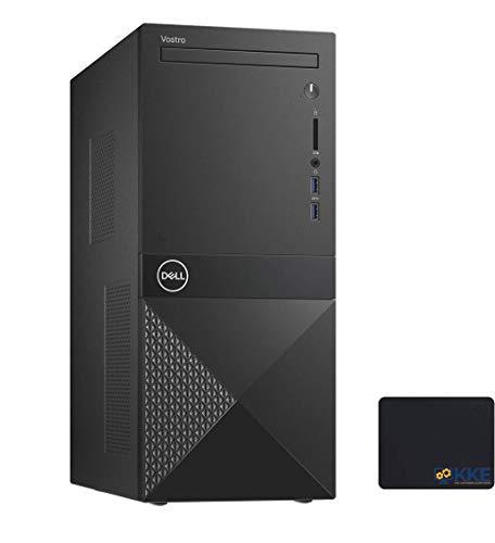 2020 Newest Dell Vostro (Better Than Inspiron) 3000 Series 3671 Tower Desktop, Intel Core i3-9100 Quad-Core Processor, 8GB RAM, 1TB HDD, WiFi, HDMI, VGA, DVD, Windows 10 Pro, KKE Mousepad