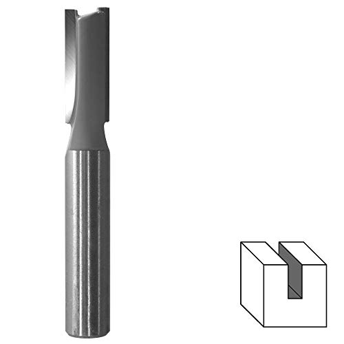 HM Nutfräser Ø 8 mm (zweischneidig) Schaft 8 mm Holzfräser Fräser Nuter Freser