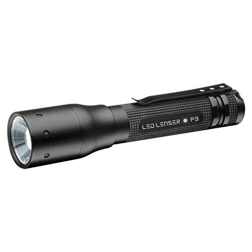 Led Lenser P3 Flashlight (Black Clam)