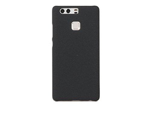 ARTILVST Huawei P9 Funda,Ultra fino medio rodeó la estructura de superficie mate Durable PC Protector teléfono funda para Huawei P9 Smartphone [negro]