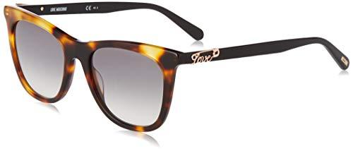 Love Moschino MOL005/S Gafas de sol, Marrón (Dk Havana), 52.0 para Mujer