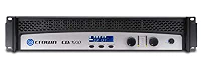 Crown CDi 1000 2 Channel Power Amplifier from Crown
