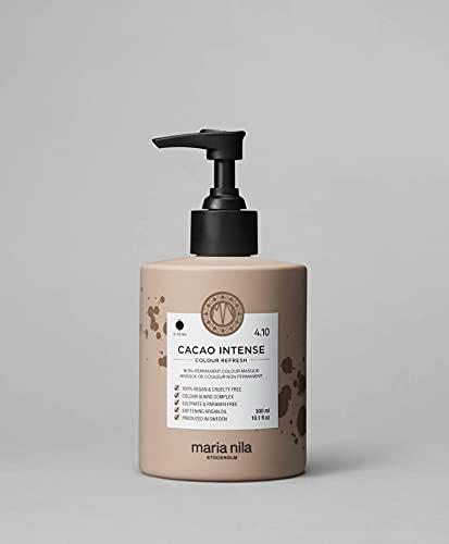 Maria Nila Colour Refresh - Cacao Intense 300ml   Eine revolutionäre Farbmaske für mittelbraunes und dunkles Haar