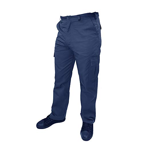 Lee Cooper Workwear Cargo Pant, 40R, marine, LCPNT205 - 6