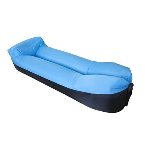 WUHUAROU S-APPOLE Fast Aufblasbare Luftsofa Bett Komfortable Schlafmatratze Leichte...