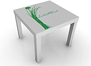 Apalis 72803–552165Table d'appoint Design No. ul622Ciboulette, 55x 55x 45cm, Bunt, 45x55