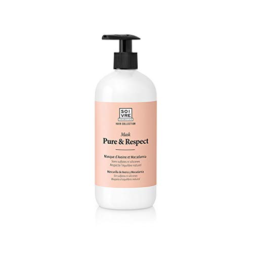 Soivre Cosmetics, Mascarilla capilar Pure & Respect. 500 ml.