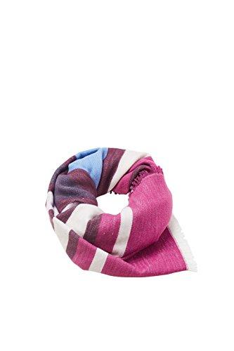 ESPRIT edc by Accessoires Damen 107CA1Q011 Schal, Violett (Berry Purple 520), One Size